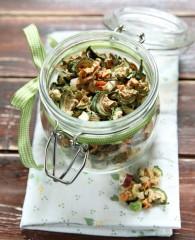 Minestrone di verdure essiccate