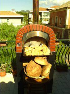 forno a legna per pane e pizze